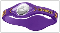 "Браслет ""Power Balance"" NBA Los-Angeles Lakers 08027"