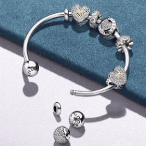 оригинальные украшения Pandora браслеты шармы серьги и кольца